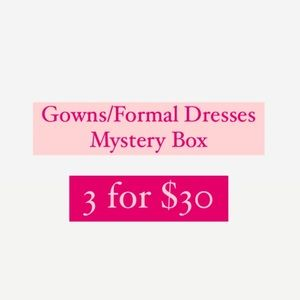 Gowns/Formal Dresses Mystery Box